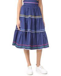 Anna October - Striped Skirt - Lyst