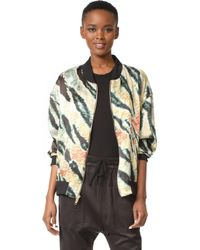 Baja East - Tiger Print Jacket - Lyst