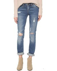 Blank - Relaxed Straight Leg Jeans - Lyst