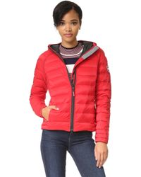 Canada Goose victoria parka sale discounts - Canada goose Brookvale Hooded Puffer Jacket in Blue (Royal Blue ...