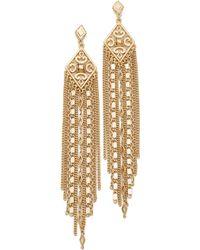 Capwell & Co - Golden Gala Earrings - Lyst