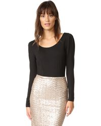 Club Monaco - Biffy Puff Sleeve Bodysuit - Lyst