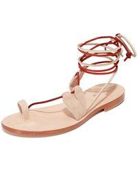 Cornetti - Scilla Wrap Sandals - Lyst