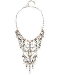DANNIJO - Champagne Necklace - Lyst
