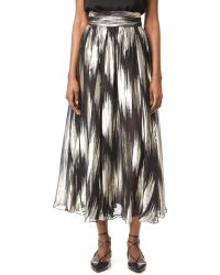 Emanuel Ungaro - Pleated Skirt - Lyst