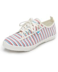 Feiyue - X Solid & Striped Valerie Trainers - Lyst