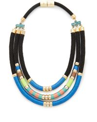 Holst + Lee - Day At The Beach Tri Strand Necklace - Lyst