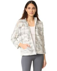 Koral Activewear - New Wave Descender Hoodie Jacket - Lyst