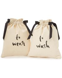 Kate Spade - To Wash & To Wear Travel Bag Set - Lyst