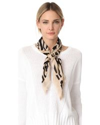 Lizzie Fortunato - Groovy Floral Scarf With Slider - Lyst