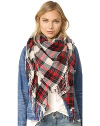 Madewell - Plaid Cosy Weave Scarf - Lyst