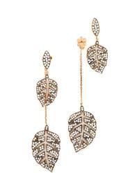 Maha Lozi - Farmers Leaf Earrings - Lyst