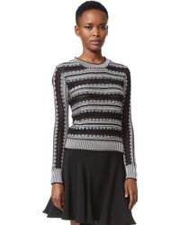 Maiyet | Long Sleeve Crew Neck Sweater | Lyst