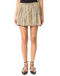 Mes Demoiselles - Flory Miniskirt - Lyst