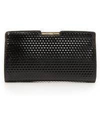 MILLY - Geo Small Frame Clutch - Lyst