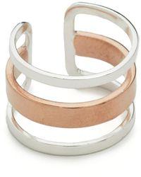 Maya Magal - Stripe Ring - Lyst