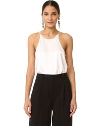 Re:named - Cami Bodysuit - Lyst