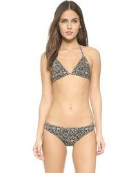 Nightcap - Triangle Bikini Top - Lyst