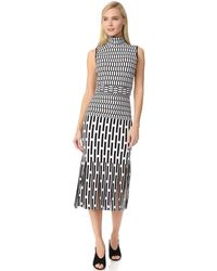 Phelan - Mock Neck Dress - Lyst
