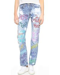 Rialto Jean Project - I Love You Boyfriend Jeans - Lyst