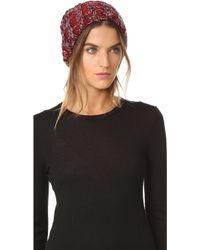 Rebecca Minkoff - Chunky Melange Slouchy Hat - Lyst