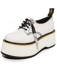 R13 - X Stack Doodle Oxford Shoes - Lyst