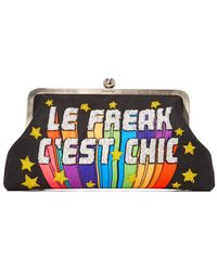 Sarah's Bag - Le Freak Classic Clutch - Lyst