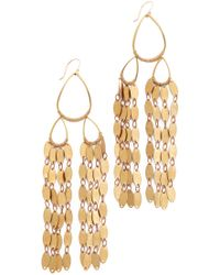 Serefina - Fringe Drape Earrings - Lyst