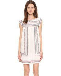 Star Mela - Allie Embroidered Dress - Lyst