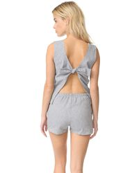 Solid & Striped - The Michy Romper - Lyst