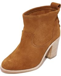 Soludos - Heeled Booties - Lyst