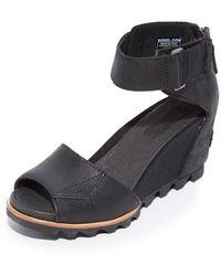 Sorel - Joanie Wedge Sandals - Lyst