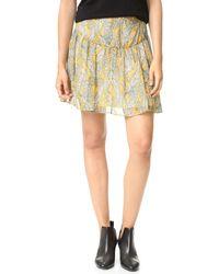 Twelfth Street Cynthia Vincent - Shirred Skirt - Lyst