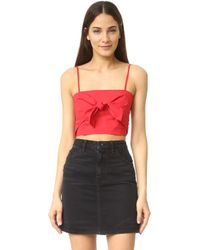 VEDA - Knot Top - Lyst