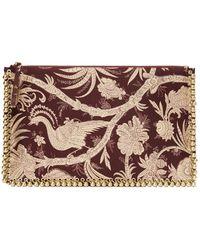 Zimmermann - Embellished Envelope Clutch - Lyst