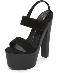 Giuseppe Zanotti - Platform Sandals - Lyst