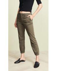 Velvet - Margot Military Pants - Lyst