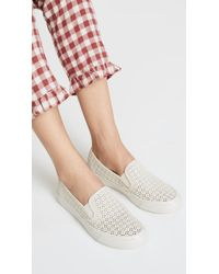 Sperry Top-Sider - Seaside Nautical Perf Slip On Trainers - Lyst
