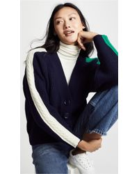 SJYP - Cable Tape Cardigan - Lyst