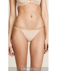 CALVIN KLEIN 205W39NYC - Sleek Model Thong - Lyst