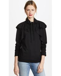 RED Valentino   Ruffle Pullover   Lyst