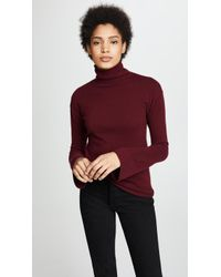 Theory - Bell Sleeve Cashmere Jumper - Lyst
