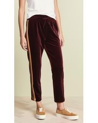 Mother - The Lounger Ankle Pants - Lyst