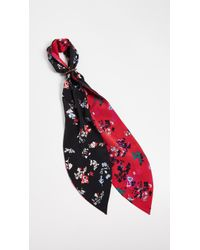Tanya Taylor - Printed Scarf With Pony Buckle - Lyst