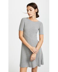Three Dots - Short Sleeve Dress - Lyst