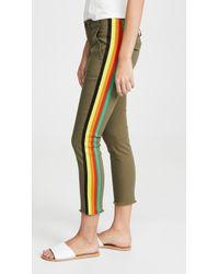 6fecaf8fea395 Pam & Gela - Rainbow Side Stripe Pants - Lyst