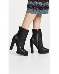 Alice + Olivia - Holden Platform Boots - Lyst