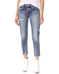 Moussy - Mv Kelly Tapered Jeans - Lyst