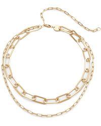 Jennifer Zeuner - Mayfair Double Choker Necklace - Lyst