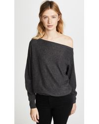 Joie - Helice Off Shoulder Cashmere Sweater - Lyst